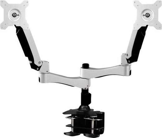 """2fach Monitor-Tischhalterung 25,4 cm (10"""") - 68,6 cm (27"""") Neigbar+Schwenkbar, Rotierbar NewStar Products FPMA-D980D"""