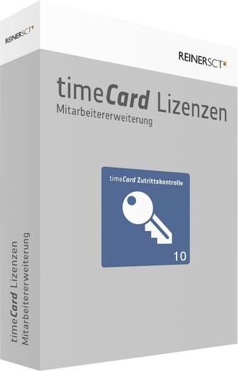 Zutrittskontrolle Software-Erweiterung ReinerSCT timeCard Version 6.0 Zutrittskontrolle / 10 Mitarbeiter