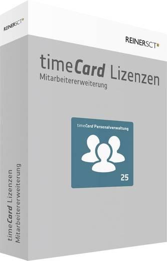 Zeiterfassung Software-Erweiterung ReinerSCT timeCard Version 6.0 Personalverwaltung / 25 Mitarbeiter