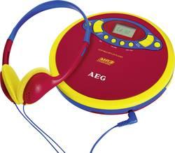 Discman - přenosný CD přehrávač pro děti AEG CDP 4228 Kids Line, podporuje MP3