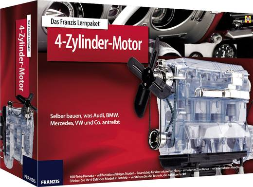 Lernpaket Franzis Verlag Lernpaket 4-Zylinder-Motor 978-3-645-65275-9 ab 14 Jahre