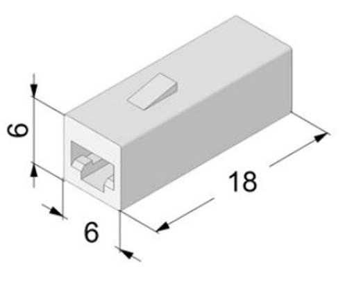Isolierhülse Weiß 0.50 mm² 1 mm² Vogt Verbindungstechnik 3931h1pa 1 St.