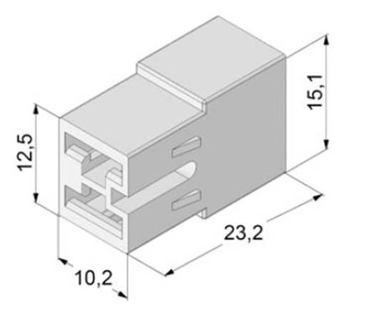 Isolierhülse Weiß 0.5 mm² 1 mm² Vogt Verbindungstechnik 3938h2pa 1 St.