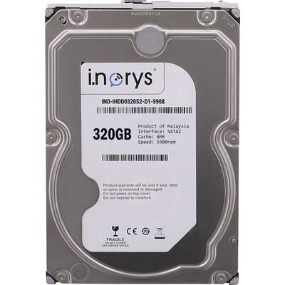 Interne Festplatte 8.9 cm (3.5 Zoll) 320 GB i.norys Bulk INO-IHDD0320S-D1 SATA Preisvergleich