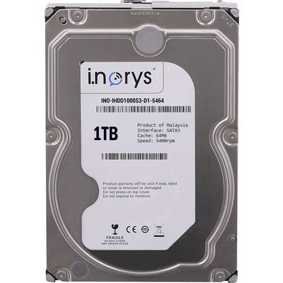 Interne Festplatte 8.9 cm (3.5 Zoll) 1 TB i.norys Bulk INO-IHDD1000S-D1 SATA Preisvergleich