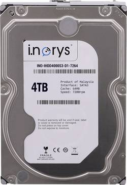 Disque dur interne 8.9 cm (3.5 pouces) i.norys INO-IHDD4000S-D1 4 To - INO-IHDD4000S-D1