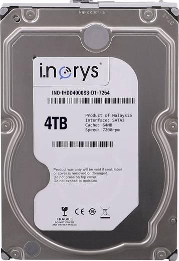 Interne Festplatte 8.9 cm (3.5 Zoll) 4 TB i.norys Bulk INO-IHDD4000S-D1 SATA