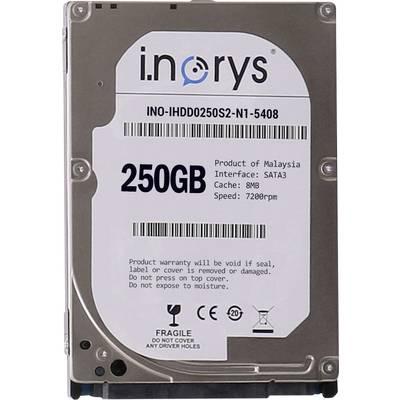 Interne Festplatte 6.35 cm (2.5 Zoll) 250 GB i.norys Bulk INO-IHDD0250S-N1 SATA Preisvergleich