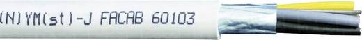 Installationsleitung (N)YM(St)-J 3 x 1.50 mm² Grau Faber Kabel 020308 Meterware