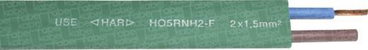 Lichterkettenkabel H05RNH2 2 x 1.50 mm² Grün Faber Kabel 050411 Meterware