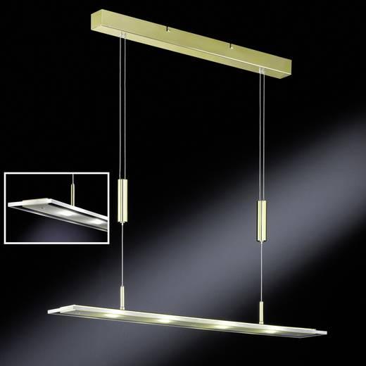 LED-Pendelleuchte 16 W Warm-Weiß Honsel Lapis 64524 Messing (poliert)