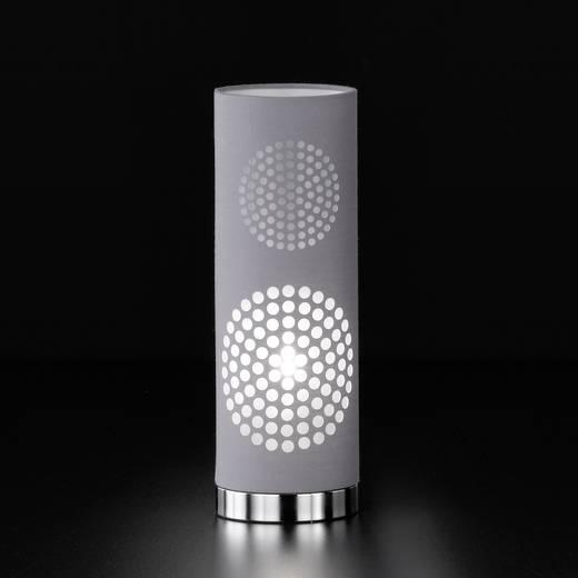 Tischlampe Halogen, LED E14 30 W Honsel Joona 96501 Grau