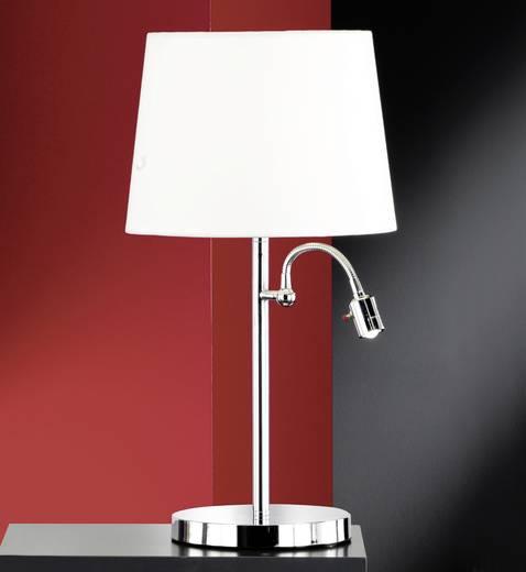 Tischlampe Halogen E27 46 W Honsel Lebon 51412 Weiß