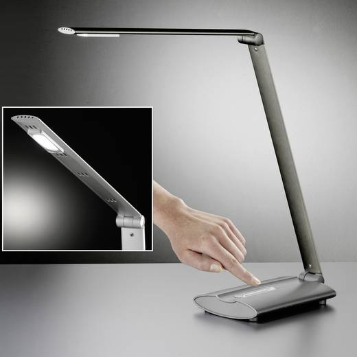 LED-Tischlampe 6 W Kalt-Weiß Honsel Signe 97021 Anthrazit