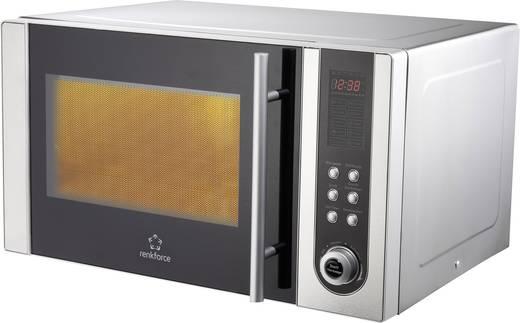 Mikrowelle 800 W Grillfunktion, Heißluft-Funktion Renkforce