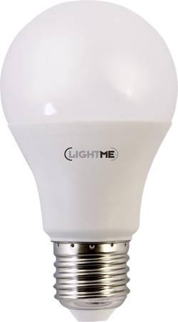 LED žárovka LightMe LM85218 230 V, E27, 10 W = 60 W, teplá bílá, A+, 1 ks