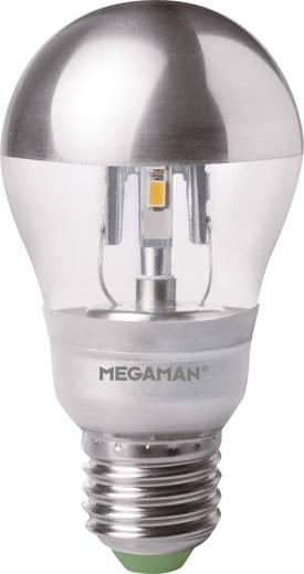 LED E27 Glühlampenform 5 W = 27 W Warmweiß (Ø x L) 60 mm x 106 mm EEK: A+ Megaman 1 St.