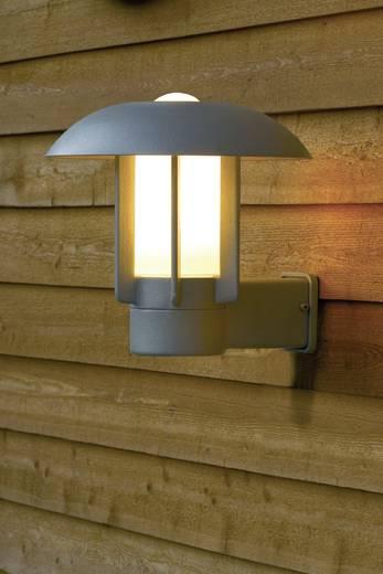 Außenwandleuchte Energiesparlampe, LED E27 60 W Konstsmide Heimdal 401-312 Silber