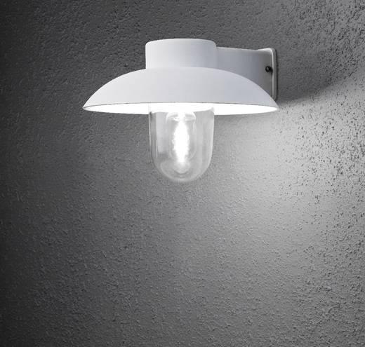 Außenwandleuchte Energiesparlampe, LED E27 60 W Konstsmide Mani 415-250 Weiß