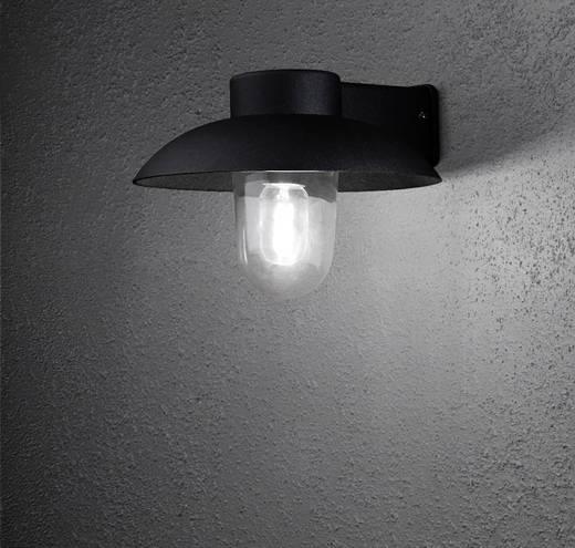 Außenwandleuchte Energiesparlampe, LED E27 60 W Konstsmide Mani 415-750 Schwarz