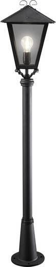 Außenstandleuchte Energiesparlampe, LED E27 100 W Konstsmide Benu 436-750 Schwarz