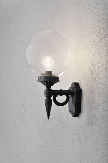 Außenwandleuchte Energiesparlampe, LED E27 100 W Konstsmide Orion 496-750 Schwarz