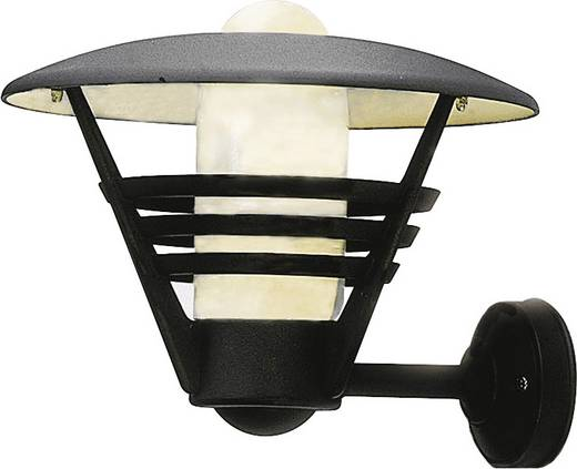 Außenwandleuchte Energiesparlampe, LED E27 100 W Konstsmide Gemini 503-750 Schwarz