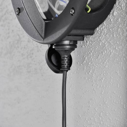 Außenwandleuchte Energiesparlampe, LED E27 60 W Konstsmide Oden 516-750 Schwarz