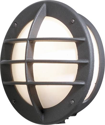 Außenwandleuchte Energiesparlampe, LED E27 60 W Konstsmide Oden 516-752 Schwarz