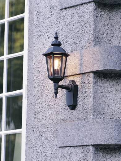 Außenwandleuchte Energiesparlampe, LED E27 60 W Konstsmide Pallas Up 518-750 Schwarz