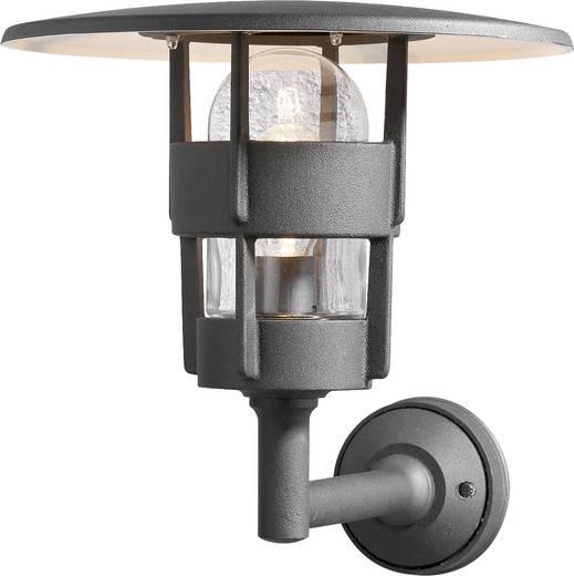 Außenwandleuchte Energiesparlampe, LED E27 60 W Konstsmide Freja Up 522-750 Schwarz