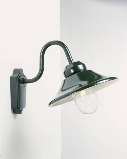 Außenwandleuchte Energiesparlampe, LED E27 60 W Konstsmide Vega 556-600 Grün