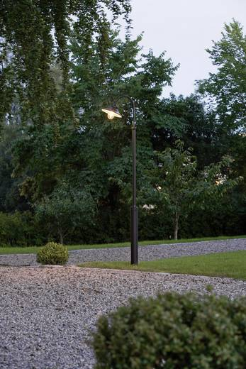 Außenstandleuchte Energiesparlampe, LED E27 60 W Konstsmide Vega 560-750 Schwarz