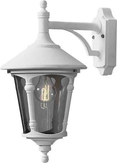 Außenwandleuchte Energiesparlampe, LED E27 100 W Konstsmide Virgo Down 568-250 Weiß