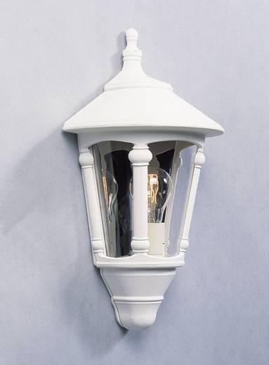 Außenwandleuchte Energiesparlampe, LED E27 60 W Konstsmide Virgo 569-250 Weiß