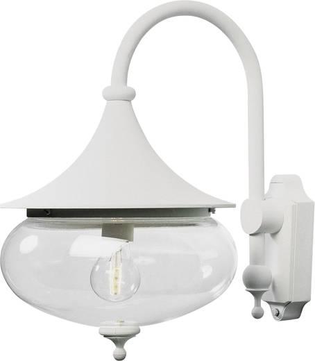 Außenwandleuchte Energiesparlampe, LED E27 100 W Konstsmide Libra 619-250 Weiß
