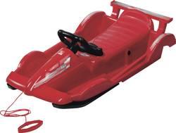 Image of Kunststoffrodel Alpengaudi AlpenRace Zulässiges Gesamtgewicht 50 kg Rot