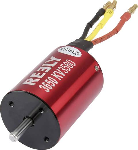 Automodell Brushless Elektromotor Reely kV (U/min pro Volt): 3650
