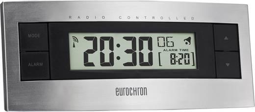 Eurochron EFW 2000 Funk Wecker Silber, Schwarz Alarmzeiten 1
