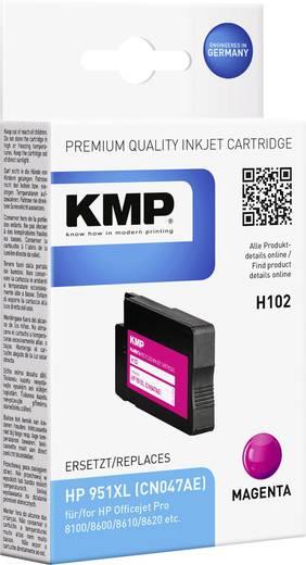 KMP Tinte ersetzt HP 951, 951XL Kompatibel Magenta H102 1723,4006