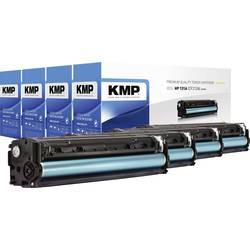 KMP sada tonerů náhradní HP 131A, 131X, CF210A, CF210X, CF211A, CF212A, CF213A kompatibilní černá, azurová, purppurová, žlutá 24