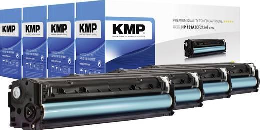 KMP Toner Kombi-Pack ersetzt HP 131A, 131X, CF210A, CF210X, CF211A, CF212A, CF213A Kompatibel Schwarz, Cyan, Magenta, Ge