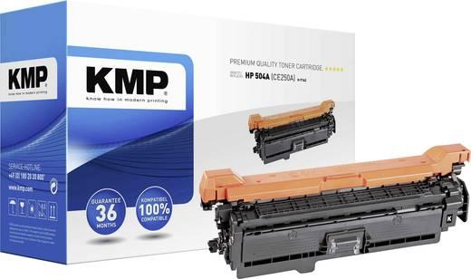 KMP Toner ersetzt HP 504A, CE250A Kompatibel Schwarz 5000 Seiten H-T162