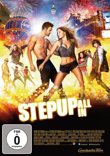 DVD Step Up: All In FSK: 0