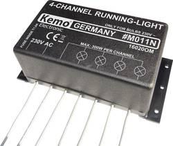 Kit chenillard (kit monté) Kemo M011N 230 V/AC 1 pc(s)