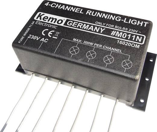 Lauflicht Bausatz Kemo M011N Ausführung (Bausatz/Baustein): Baustein 230 V/AC