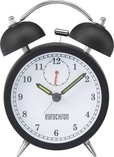 Quarz Wecker Eurochron EQWG 50 Schwarz Alarmzeiten 1