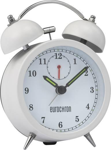 Quarz Wecker Eurochron EQWG 52 Weiß Alarmzeiten 1