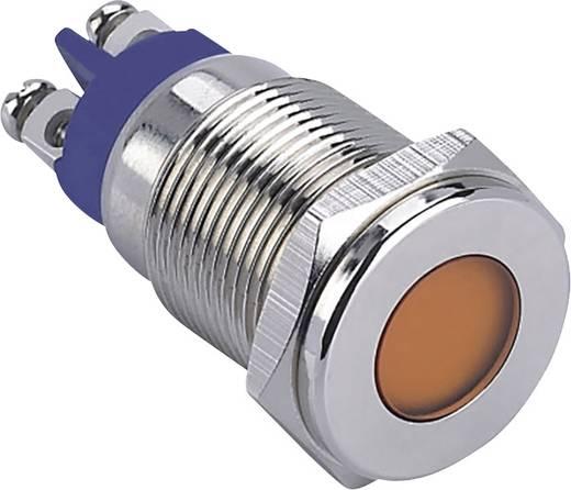LED-Signalleuchte Grün 12 V TRU Components GQ16F-D/G/12V/N
