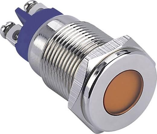LED-Signalleuchte Blau 12 V TRU Components GQ16F-D/B/12V/N